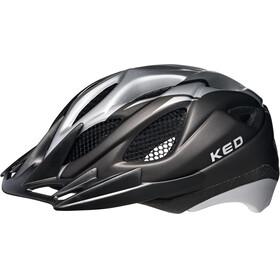 KED Tronus Helmet Black Silver Matt